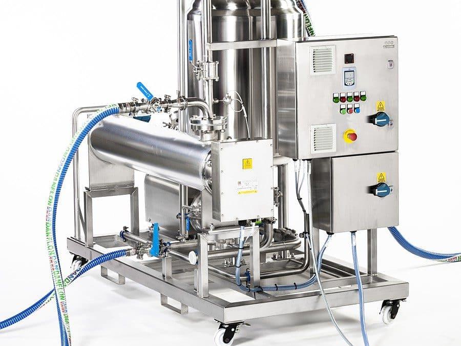 Nieuw materieel voor de farmaceutische industrie